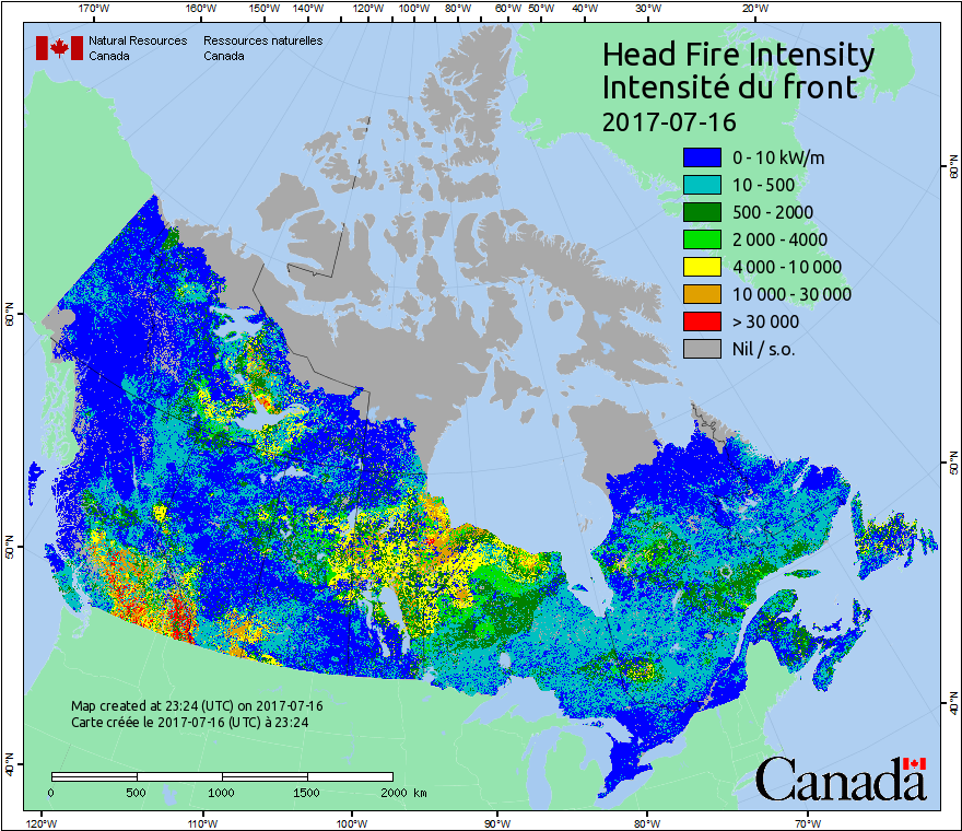 Head Fire Intensity