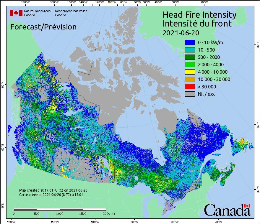 Canada Fire Behavior